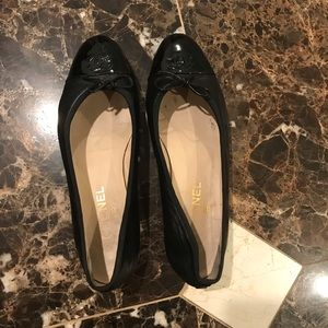 Authentic Chanel Shoes Flats Size 41.5 Size 11.5